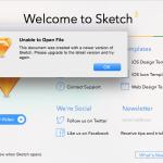 デザインツール「Sketch」で作られたファイルが開けない時の解決策