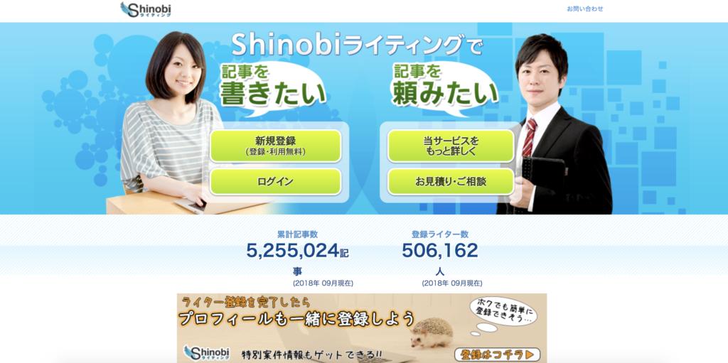 shinobi ライティング